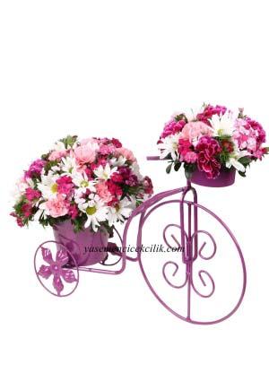 Bisiklete Kır Çiçeğim